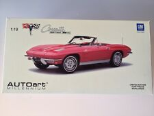 1:18 Chevrolet Corvette 1963 Convertible AUTOart 71191