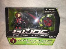 GI Joe Rise of Cobra Mantis Attack Craft w Aqua-Viper Officer NEW SEALED ROC 25