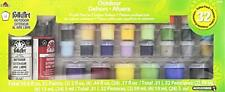 FolkArt Outdoor Acrylic Paint Set, 32 Color 4212, New, Free Shipping