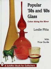 Art Glass of the 50s and 60s - Types Makers Marks / Illustrated Book + Values