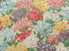 Sanderson Curtain Fabric COTTAGE GARDEN 3.5m Blackcurrant Vintage 2 Design 350cm