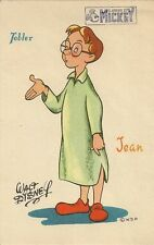 CARTE POSTALE CHOCOLAT TOBLER FANTAISIE ILLUSTRATEUR WALT DISNEY JEAN PETER PAN