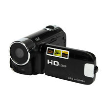 2.7'' HD USB 1080P 16M 16X Digital Zoom 32GB Vídeo Cámara DV Camera Negro