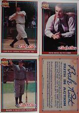 1991 TOPPS BABE RUTH MOVIE CARDS SET   PETE ROSE