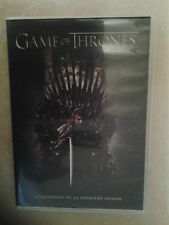 21186//GAME OF THRONES SAISON 1 COFFRET 5  DVD NEUF SANS BLISTER