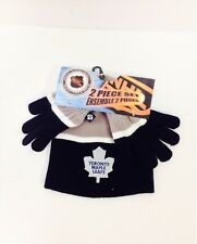NHL Children's Toque & Gloves w/Toronto Maple Leafs Logo*NEW*