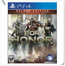 PS4 For Honor Deluxe Edition Chi + Eng Version 榮耀戰魂 中英文版 Ubisoft Action Games