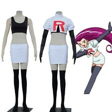 Pocket Game Anime Pokemon Team Rocket James Jesse Cosplay Costume Custom Size