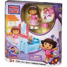 Mega Bloks Dora the Explorer Dora's Buildable Bedroom  Set #3074