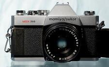 Vintage MAMIYA/SEKOR MSX500 SLR Camera w 50mm f2 Mamiya SX Lens