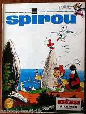 (b)SPIROU N°1558 sans le mini-récit, sans le supplément Belge/ Puch M 125