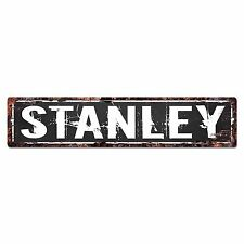 SFND0106 STANLEY MAN CAVE Street Chic Sign Home man cave Decor Gift