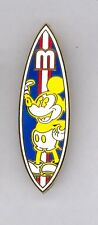 WDW Walt Disney World Classic Mickey Mouse Surfboard Surprise LE 500 Pin