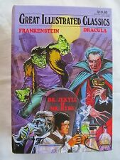 Great Illustrated Classics #271 Frankenstein, Dracula, Dr Jekyll Mr Hyde HC