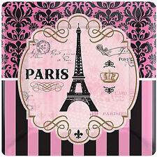 BRIDAL SHOWER Day in Paris SMALL PAPER PLATES (8) ~ Wedding Party Supplies Cake