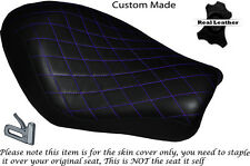 DIAMOND STITCH PURPLE CUSTOM FOR HARLEY SPORTSTER LOW IRON 883 SOLO SEAT COVER