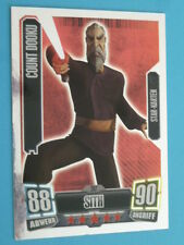Force Attax Clone Wars Serie 2 (2011), Count Dooku (207), Star-Karten