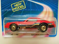 1989 HOT WHEELS - SPEED FLEET / NEW MODEL - CHEVY CAMARO Z-28 - UNPUNCHED CARD