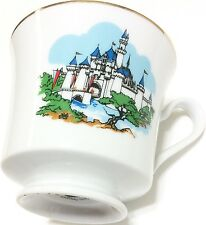 Vtg Walt Disney Productions Cinderella's Castle Tea Cup Japan World Disneyland