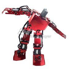 17DOF Robo-Soul H3.0 Biped Robtic Two-Legged Human Robot Aluminum Frame Kit Red