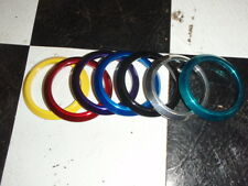 "Slimline Flat bezel size 2 1/16"" available blue, purple, or  red or white"