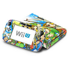 Legend of Zelda The Wind Walker for Nintendo Wii U & GamePad Skin Decal Cover