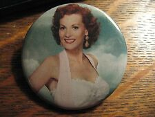 Maureen O'Hara Pocket Mirror - Repurposed Magazine Movie Article Lipstick Mirror