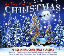VERY BEST OF CHRISTMAS 75 Essential Holiday Songs Classic Music NEW SEALED 3 CD