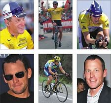 Lance Armstrong Tour De France Cyclisme Carte Postale Set