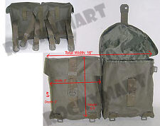 Swiss Dual Ammo Pouch (NEW) Olive Drab Military Army Ammunition RM2293