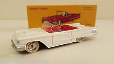 DINKY TOYS ATLAS- FORD CABRIOLET THUNDERBIRD BLANCHE NOREV VOITURE MINIATURE 555