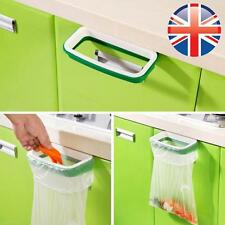 *UK Seller* Kitchen Waste Carrier Bag Holder Bin Hanging Hook Rubbish Reuse