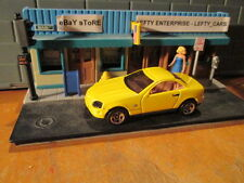 HOTWHEELS YELLOW MERCEDES BENZ SLK (1997)- 1/64 SCALE