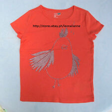 70% OFF!AUTH BABY GAP GIRLS' BIRD GLITTER GRAPHIC TEE 4 YEARS BNEW US$12.99+