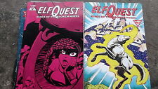 WARP COMICS Elf Quest Kings Of The Broken Wheel  1-7  ElfQuest