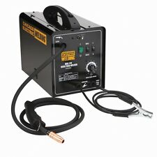 New 240 Volt 170 Amp Mig Flux Wire Welder With Accessories Included!