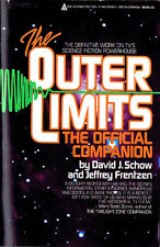 David J. Schow THE OUTER LIMITS: THE OFFICIAL COMPANION Signed 1st Printing TPB