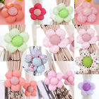 1Pcs New Kid Bedroom Sunflower Curtain Tieback Tie Back Decor Holder Buckle Hook