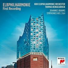Elb-Philharmonie First Recording - Brahms: Sinfoni - Thomas Henge (2017, CD NEU)