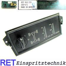 Console VDO 857919219 allradzuschaltung Voltmeter olio AUDI QUATTRO