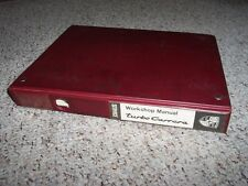 1985 Porsche 911 930 Turbo 3.3L Factory Workshop Service Repair Manual RARE!