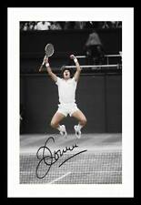 JIMMY CONNORS AUTOGRAPHED SIGNED & FRAMED PP POSTER PHOTO