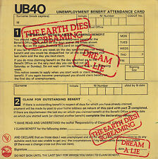 45TRS VINYL 7''/ FRENCH SP UB 40 / THE EARTH DIES SCREAMING
