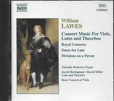CD album: William Lawes: Roberts, Organ. Heringman. Miller. Consort. Naxos. T