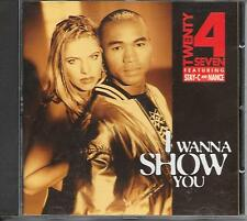 TWENTY 4 SEVEN - I wanna show you CD Album 12TR Eurodance (CNR) Holland 1994
