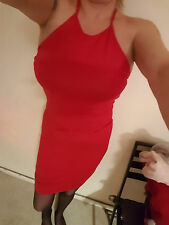 Sexy robe rouge taille 12