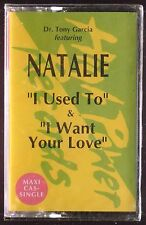 Natalie-I Used To / I Want Your Love EP CASSETTE HIGH POWER WARLOCK SEALED OOP