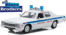 Greenlight 1/24 1975 Dodge Monaco Chicago Police Blues Brothers Diecast 84012
