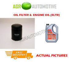 DIESEL OIL FILTER + FS 5W40 ENGINE OIL FOR TOYOTA COROLLA 2.0 72 BHP 1997-99