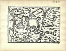 Antique map, La Capelle [Lachapelle]